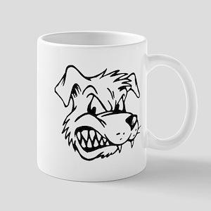 mean dog Mugs