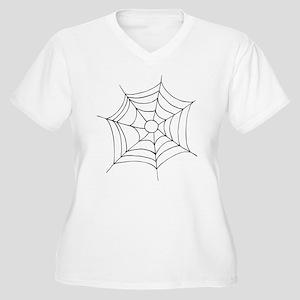 spider web Plus Size T-Shirt