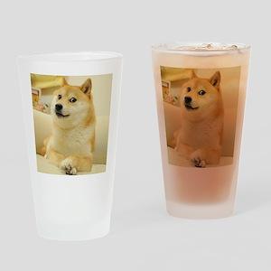 doge Drinking Glass