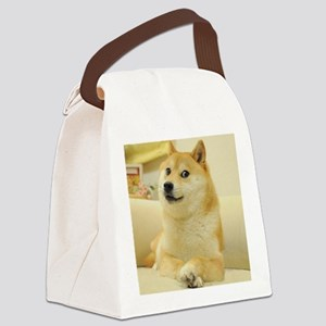 doge Canvas Lunch Bag