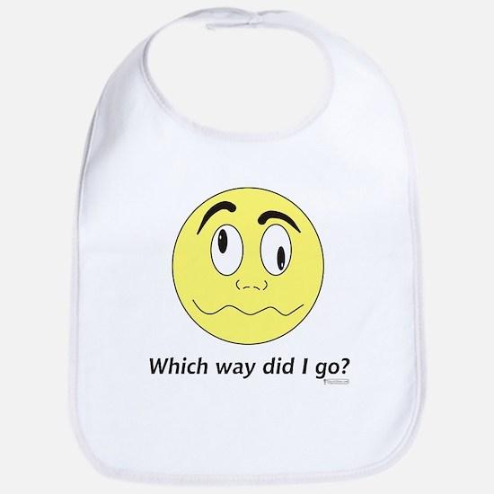 Which Way Did I Go? Bib