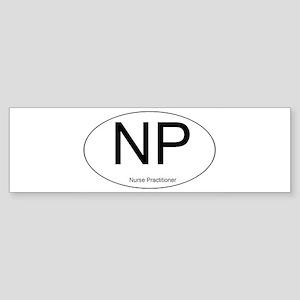 NPOvalLine Bumper Sticker