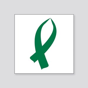 Awareness Ribbon (Green) Sticker