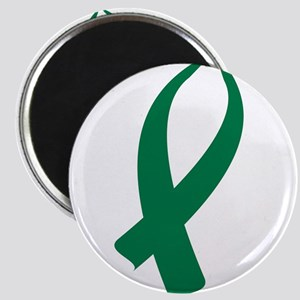 Awareness Ribbon (Green) Magnets