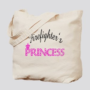 Firefighters's Princess Tote Bag