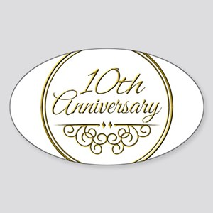 10th Anniversary Sticker