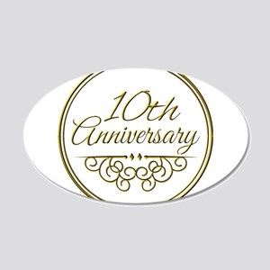 10th Anniversary Wall Decal