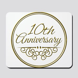 10th Anniversary Mousepad