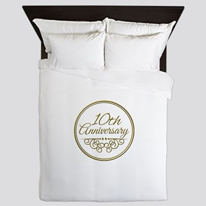 10th Anniversary Queen Duvet