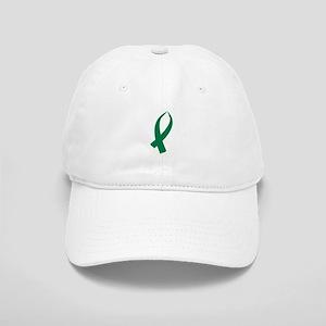 Awareness Ribbon (Green) Baseball Cap