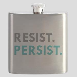 RESIST. PERSIST. Flask