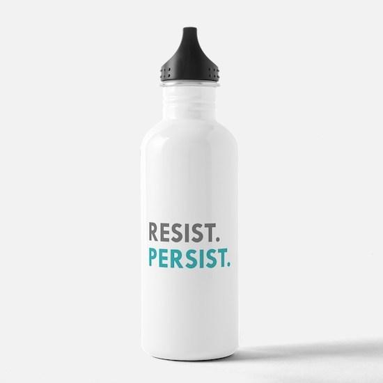 RESIST. PERSIST. Water Bottle