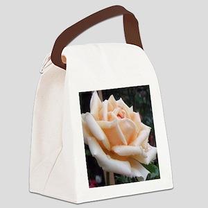 toronto peach rose  Canvas Lunch Bag
