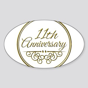 11th Anniversary Sticker
