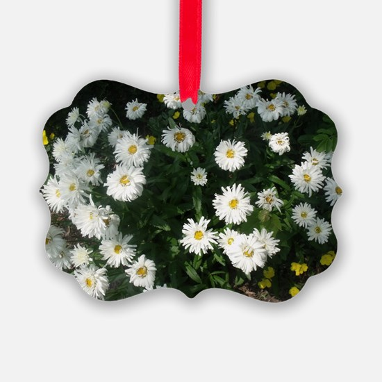 dollup of daisies Ornament