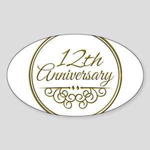 12th Anniversary Sticker