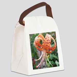 ms tiger lily Canvas Lunch Bag