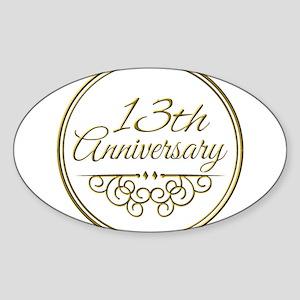 13th Anniversary Sticker