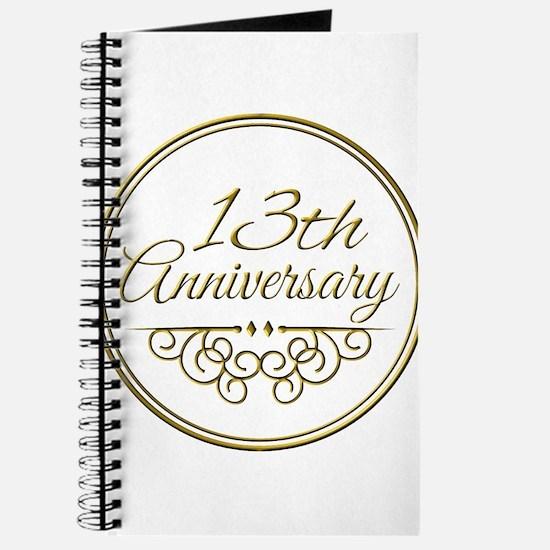 13th Anniversary Journal
