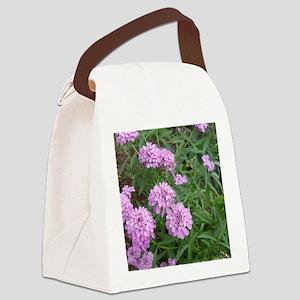 purple love Canvas Lunch Bag