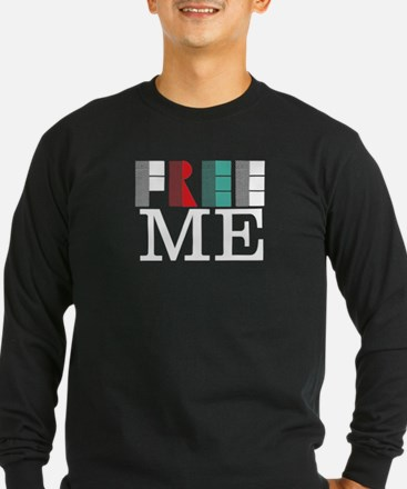 Free 3_dark Long Sleeve T-Shirt