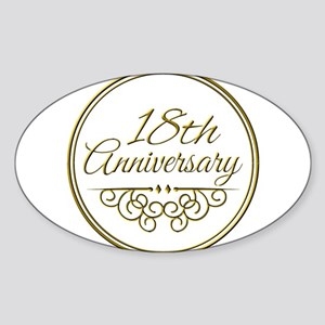 18th Anniversary Sticker