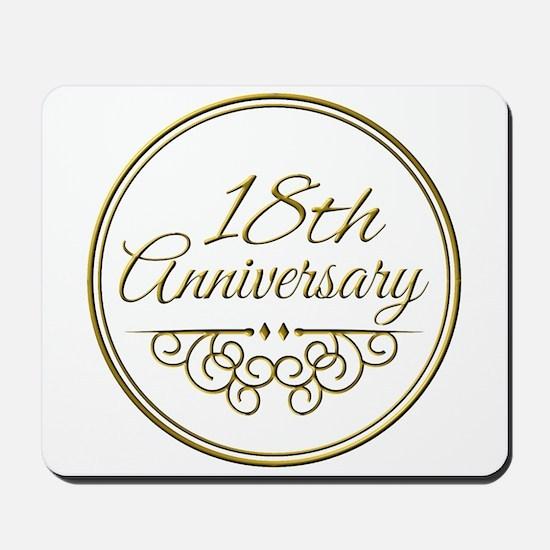 18th Anniversary Mousepad