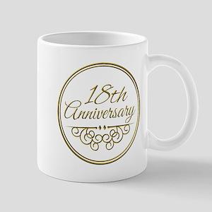 18th Anniversary Mugs