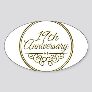 19th Anniversary Sticker