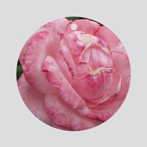 delicate rose Round Ornament