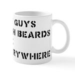 Fat Guys With Beards Are Everywhere Mug
