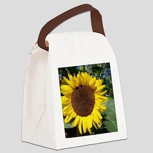 sunflower awake Canvas Lunch Bag