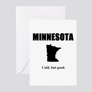 minnesotacold Greeting Cards