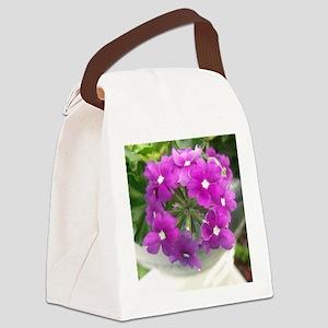 little purple bouquet Canvas Lunch Bag