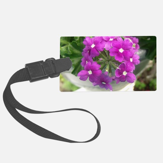 little purple bouquet Luggage Tag