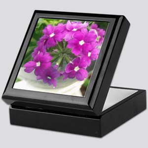 little purple bouquet Keepsake Box