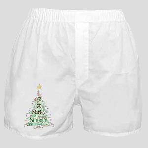 A Christmas Carol Word Cloud Boxer Shorts