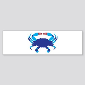 Crab Bumper Sticker