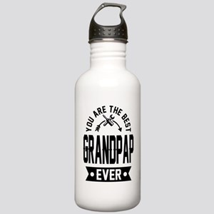 YOU ARE THE BEST GRANDPAP EVER Water Bottle
