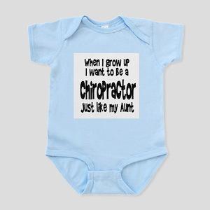 WIGU Chiropractor Aunt Infant Bodysuit