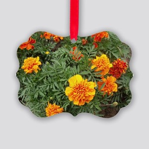 Orange Delight Picture Ornament