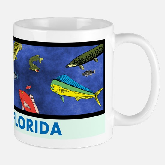 Florida Fish Tank Mug
