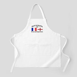 French-English BBQ Apron