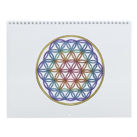 Spiralpath Mandala Wall Calendar