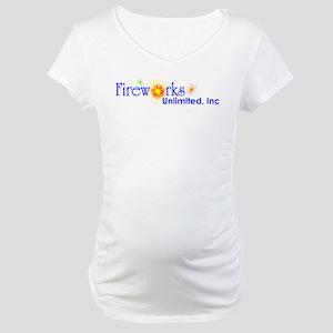 Fireworks Logo Maternity T-Shirt