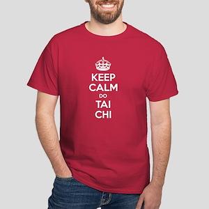 Keep Calm Tai Chi Dark T-Shirt