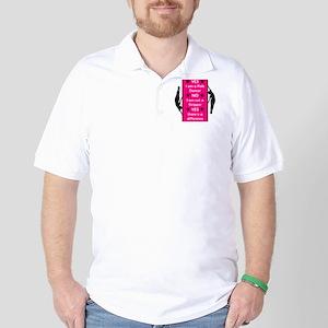 Yes I am a Pole Dancer Pink Golf Shirt
