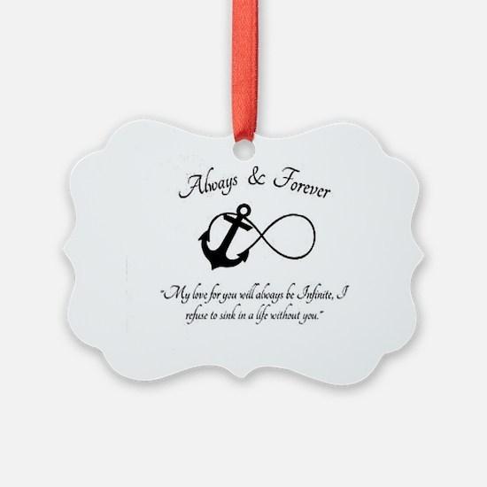 Infinite love Ornament