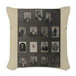 Medal of Honor Collage Woven Throw Pillow