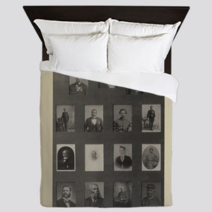 Medal of Honor Collage Queen Duvet